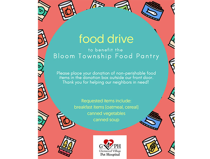GVPH Food Drive To Benefit Bloom Township Food Pantry